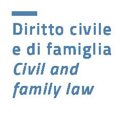 Diritto civile e di famiglia