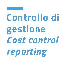 Controllo dei costi di gestione e reporting
