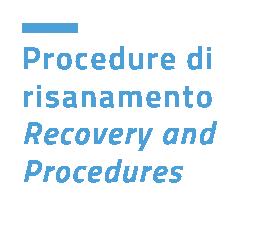 Piani e procedure di risanamento