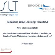 seminario wine learning focus USA