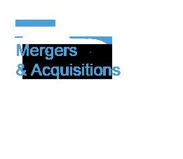 Operazioni di Merger e acquisition