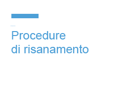 Procedure di risanamento